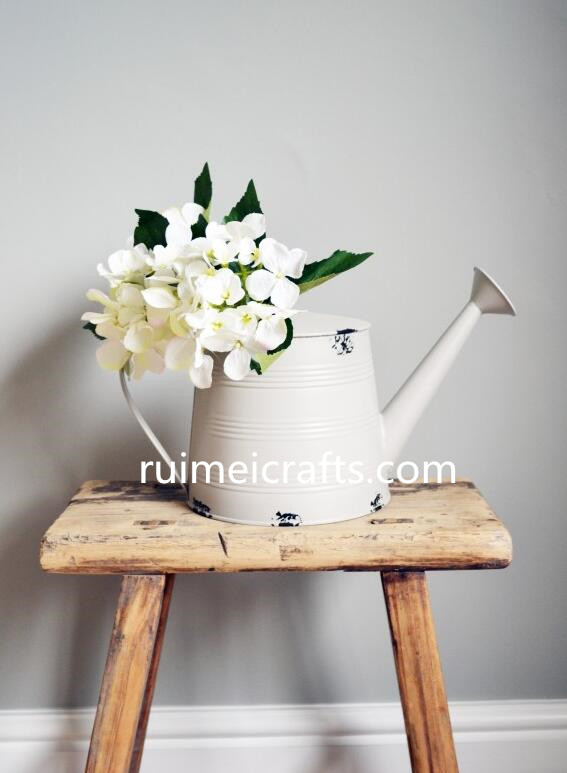 galvanizing metal watering can for decoration