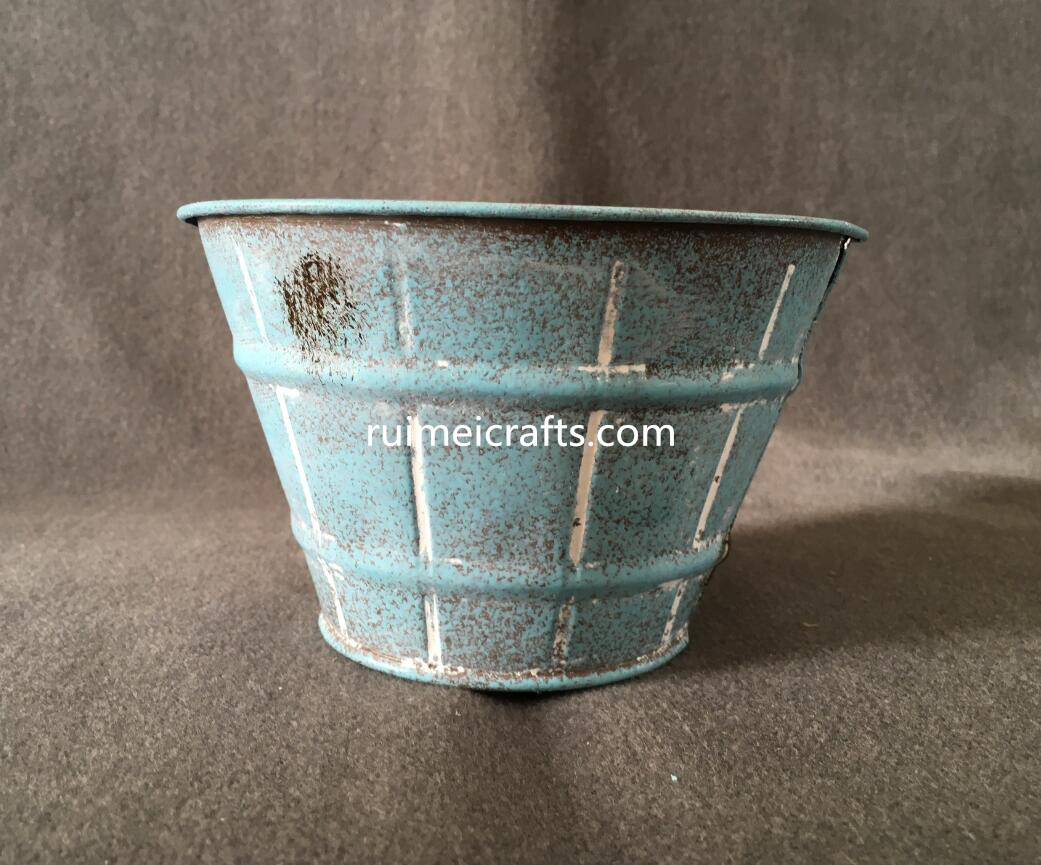 hot selling  cut flower tin bucket