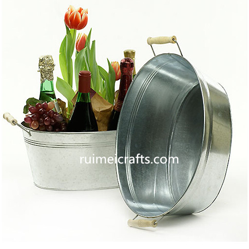 galvanized metal pot for kitchen