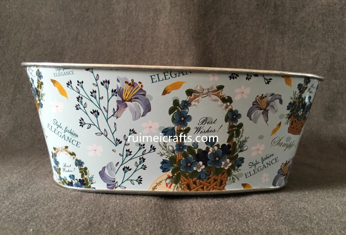 decal paint metal storage box