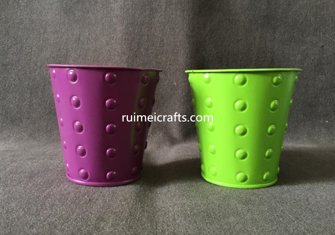 new design color metal pail